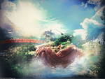 In the God hands - Wallpaper by PochoGFX