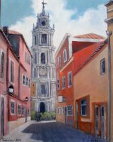 (mafra) Portugal Oil Painting by Boias