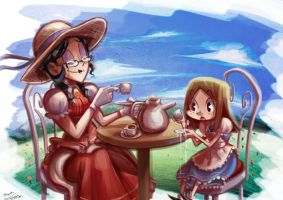 English Tea by Curly-Artist