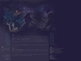 Fantasy - VIII MySpace layout by ribcages