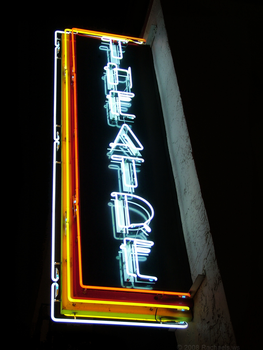 Theatre Sign by Rachaels