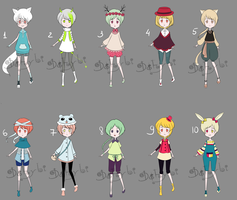 Big Batch 3 [SET PRICE][OPEN] by Dehybi-Adopts
