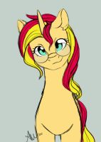 Sunset Shimmer by FairDahlia