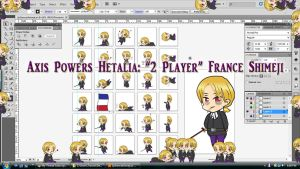 Hetalia: 2P France Shimeji Download by TionneDawnstar