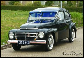 1950 Volvo PV 444 by compaan-art