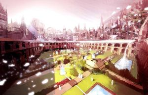The Cathedral by Pierrick