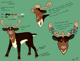 caribou ref by NAMEY-D0G