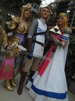 LBM Zelda Cosplay Friends Hyrule Warriors by LaraWegenaerArts