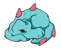 Totodile Zzzz's by Art-Stew-Frou-Frou
