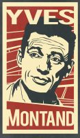 Yves Montand by muzski