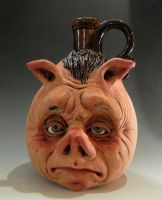 Piggy Jug by thebigduluth