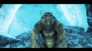 Frost Troll Mother by lupusmagus