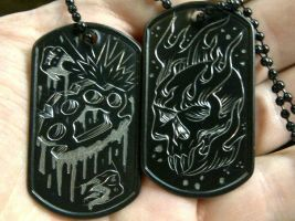 engraved dog tags by blksun