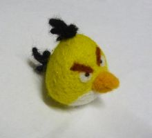 Yellow Angry Bird by Jadest