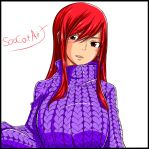 Fairy Tail Chapter 513 ~ Erza Scarlet by SooCatArt