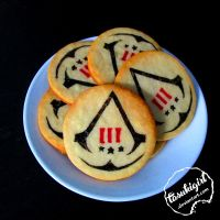 Assassin's Creed 3 cookies by tasukigirl