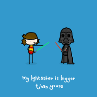 my lightsabre by sooperdave