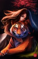 Chinese Zodiac: Tiger (The Great Race Contest) by BoFeng