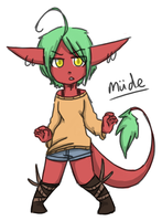 Mude - redesign by lambun