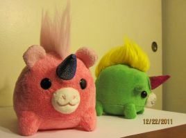 Churbbicorn Stuff Toy Collectables Project by liquidcrow