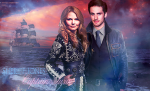 Captain Swan and Sheriff Jones by feltsbiannn