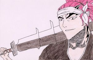 renji abarai from bleach by Acey-kakarot-michael