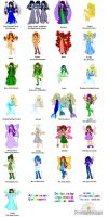 Neopets Faeries by PrincessMelissa83