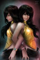 Ladies of Gemini by MeganeRid