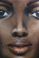 Face 02 African by bensharkey