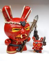 "Cannibal Dunny Custom 8"" Dunny by kgosselin"