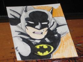 Batman ACEO by AnimeKing29