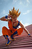 Son Goku Ssj2 by Alexcloudsquall