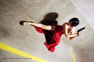 Ada Wong: Resident Evil 4 Cosplay by CLeigh-Cosplay