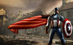 Captain America Wallpaper v2.0 by bbboz