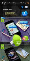 myPhone Showcase Mock-up V.2 by imonedesign