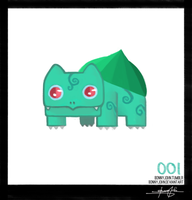 Bulbasaur - Pokemon One a Day! by BonnyJohn