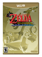The Legend of Zelda: The Wind Waker HD Box Art by CapuchinoMedia