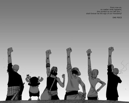 One Piece nakama wallpaper by iwantsomesoup