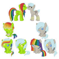 Iro and Discorded Head Breedable by Sarahs-Adopts