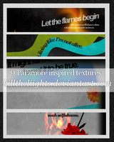 Paramore Inspired Textures by killtheliights