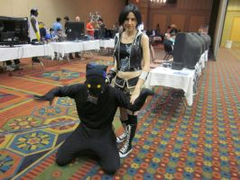 KollisionCon 2011 - Yuffie and her Heartless by Deckronomicon