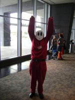 Shy guy cosplay by Robot001