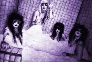 Motley Crue Bubble Bath by aerokay