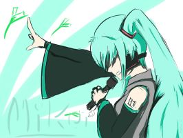 Here Comes Miku by EuFr1K