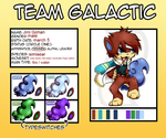 SWAG: jirogohan- simisear - galactic team by Pikachim-Michi