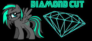 Diamond Cut (my OC pony) by nestordc
