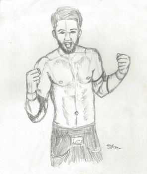 Sami Zayn by banagher-links