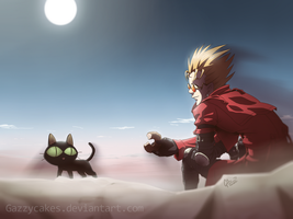 TRIGUN: Vash the Stampede by Gazzycakes