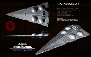 Imperial Interdictor Cruiser ortho - IIC Assessor by unusualsuspex