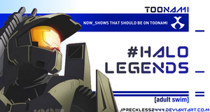 Halo Legends Should Be On Toonami by JPReckless2444